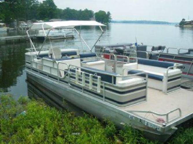 $6,500 1988 24 Foot Pontoon Boat