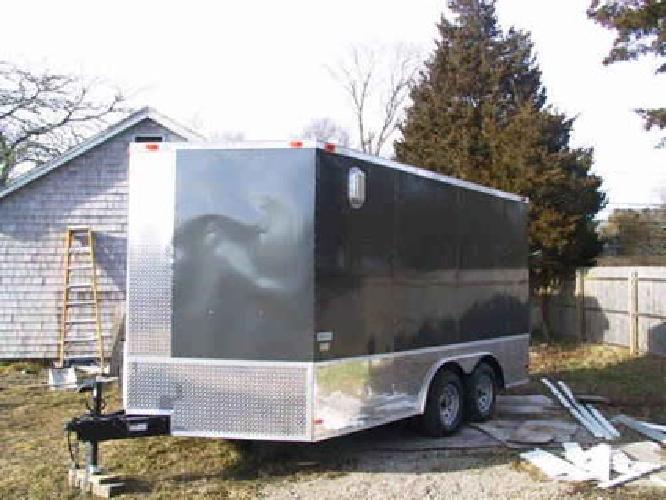 $6,500 8x14 Enclosed cargo trailer