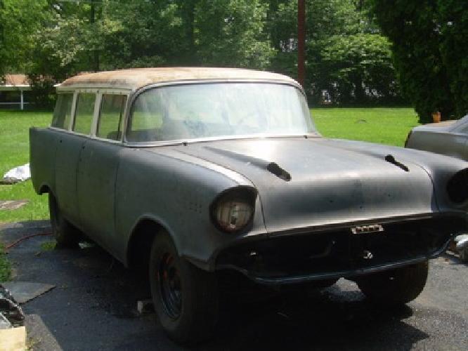 6 500 obo 1957 chevy belair wagon 4 door for sale in for 1957 chevy wagon 4 door