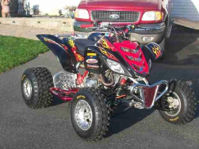 $6,500 YAMAHA RAPTOR 660 This is probably the best quad out there