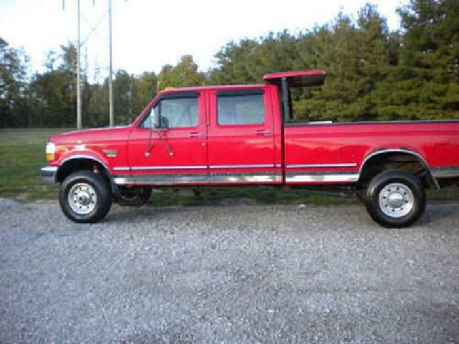 1996 Ford F-350 Crew Cab for Sale
