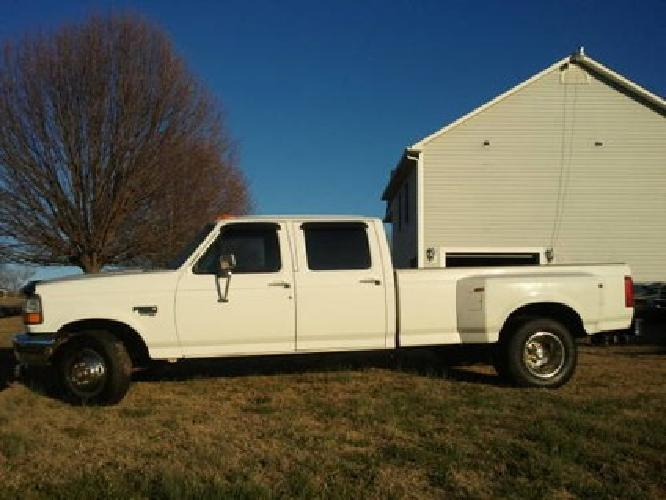 97 Ford F350 7 3 Turbo Diesel Crew Cab For Sale | Autos Weblog