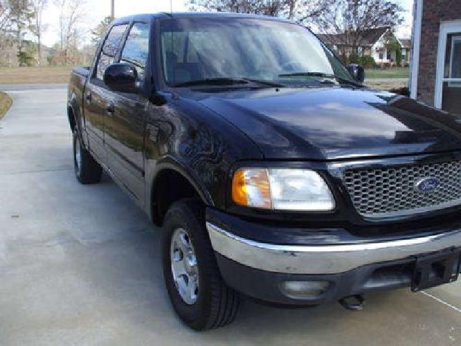 $6,850 2001 Ford F150 Supercrew 4x4