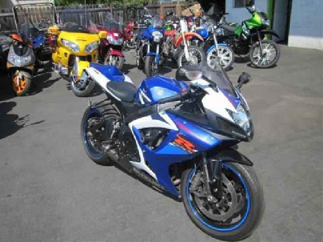 $6,999 2007 Suzuki GSX-R750 -