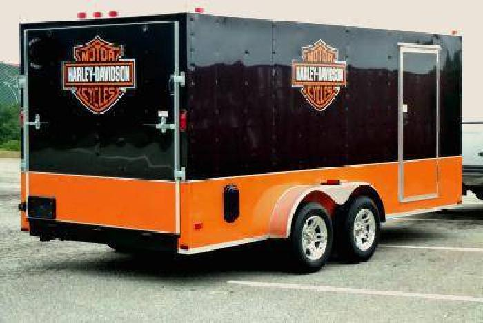 Harley Davidson For Sale California >> $6,999 2012 HARLEY DAVIDSON 16x7 ENCLOSED MOTORCYCLE CARGO TRAILER NEW for sale in Pacifica ...
