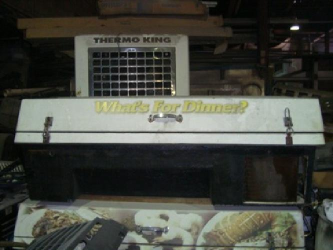 6' White Reefer Freezer Ice Cream Body - For Truck or Small Vehicle