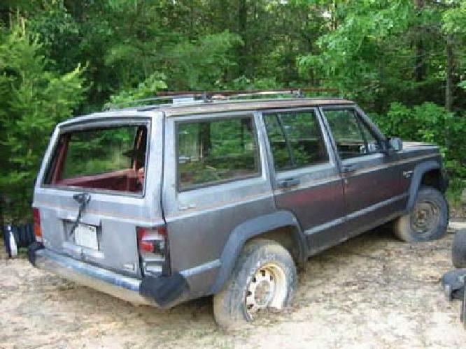 700 1985 jeep cherokee 4x4 4 dr for sale in jasper. Black Bedroom Furniture Sets. Home Design Ideas