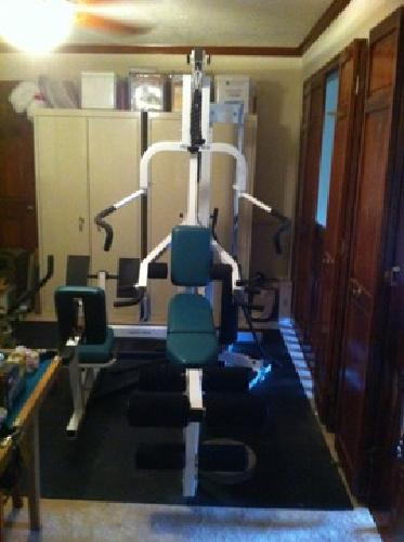 $700 obo home gym weight machine by pacific fitness now owned by