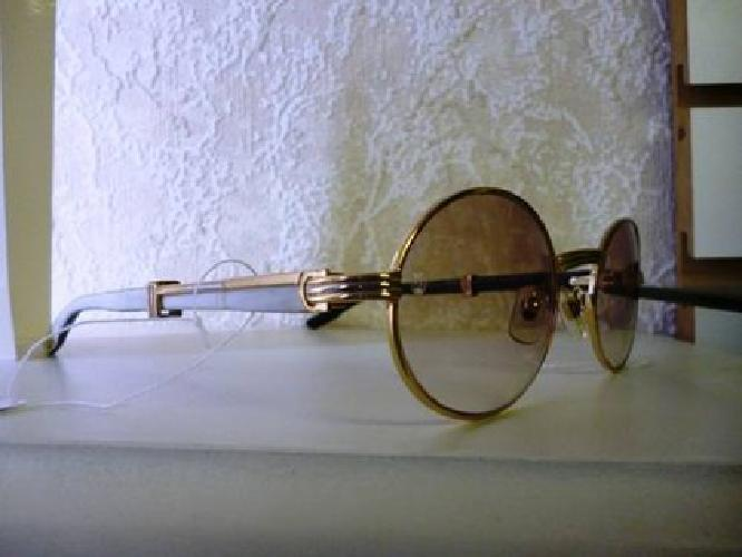 30c1e0ddbd1 Gold cartier full rim white natural horn buffalo sunglasses jpg 424x318 Cartier  buffs