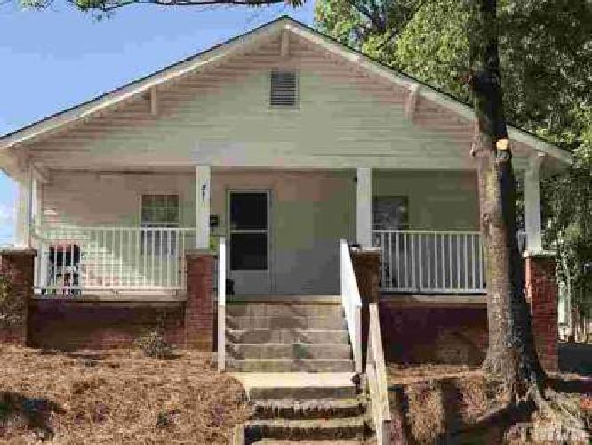 701 Dowd Street Durham, What?!? A 2 BR 1 BA house in