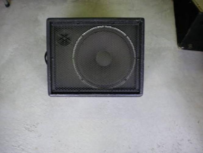 $70 peavey 12'' floor monitor