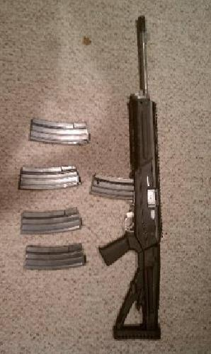 $725 PREBAN MINI 14 w/Archangel stock and 5 mags, Great shape