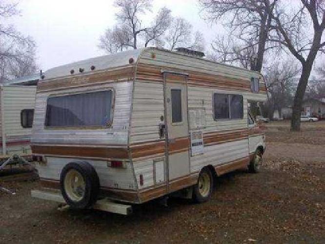 $750 1977 dodge bougham camper motorhome 20' 94700 for sale in