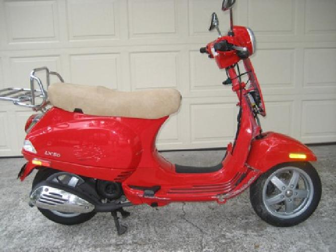 750 2006 vespa piaggio 49cc scooter motor automatic Motor scooters jacksonville fl