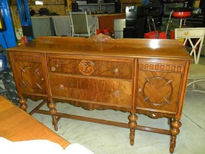 750 antique jacobiean style dining room set for sale in