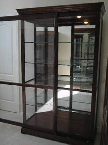 750 howard miller curio cabinet large sliding glass for Large sliding glass doors for sale