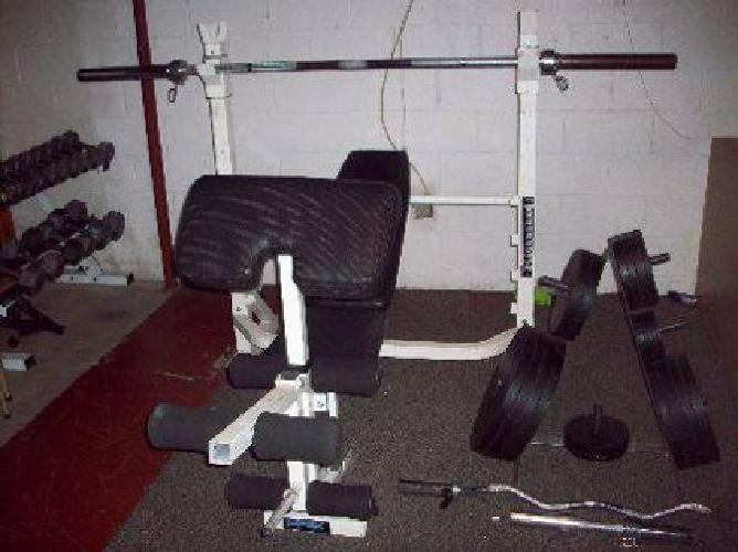 750 Impex Powerhouse 1900 Bench Overhead Pulldown With Acc For Sale In Kent Ohio Classified