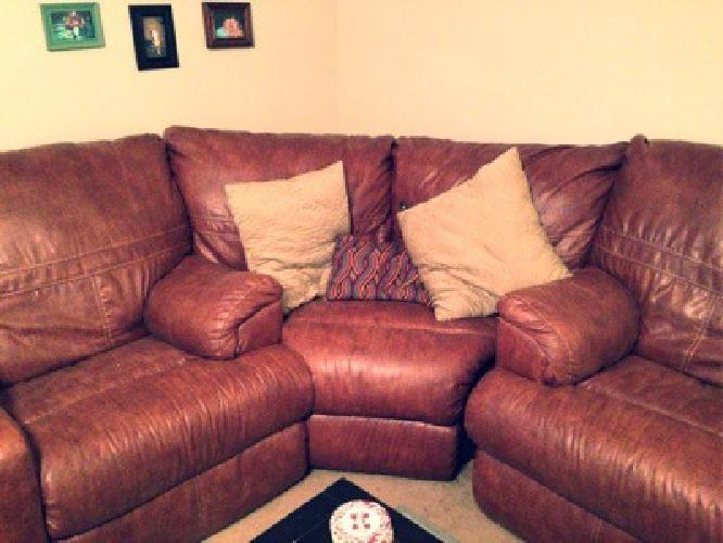 $750 Leather sectional