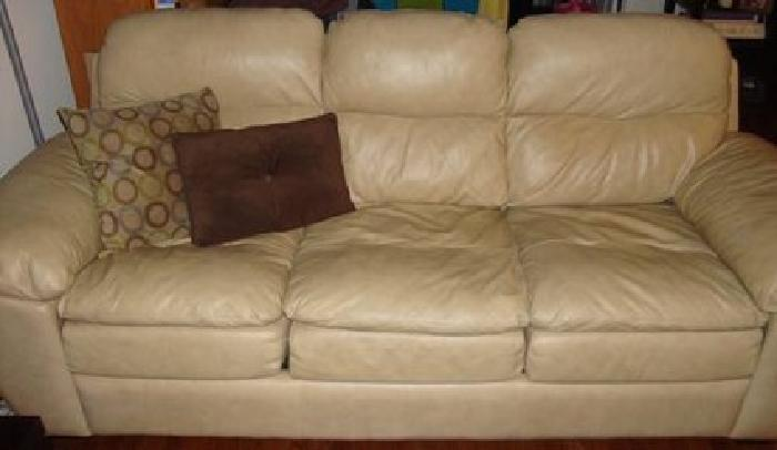 $750 Leather Sleeper Sofa Couch for sale in New York New York Classified