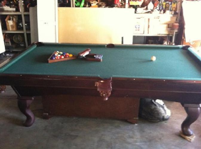 Used Olhausen Pool Tables For Sale 750 OBO Pool Table Olhausen for sale in Lakeside, California ...