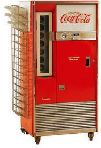 $750 Vintage 1960's Coca-Cola Soda Machine Vendo Model 63