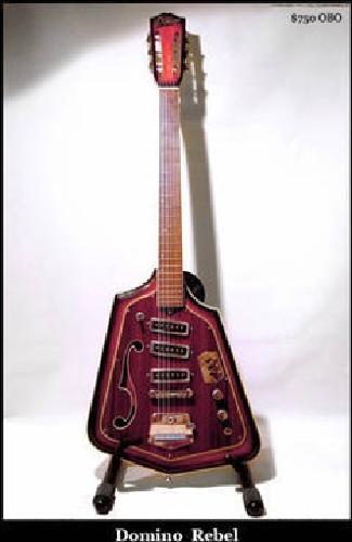 $750 Vintage Domino Rebel Guitar - RARE