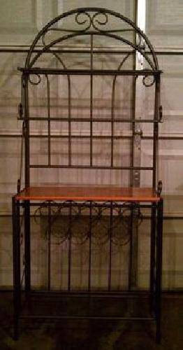 $75 Bakers Rack - Good Condition