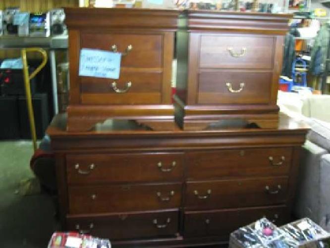 Cheap Bedroom Sets On Bedroom Sets Sale On Bedroom Set Dresser W 2 End