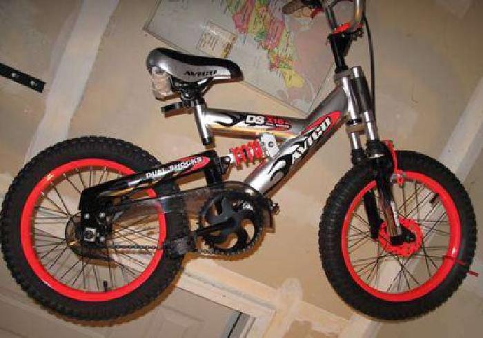 75 Brand New 16 Inch Boys Bike Avigo Bmx Dual Suspension W