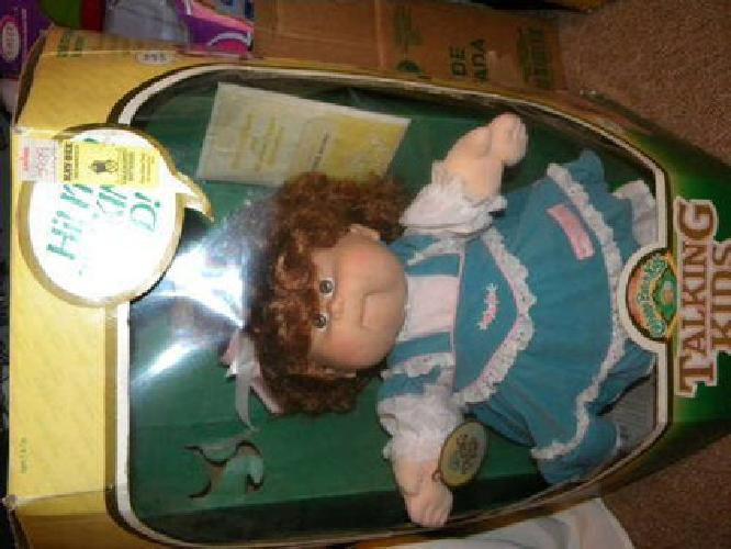 talking cabbage patch doll instructions