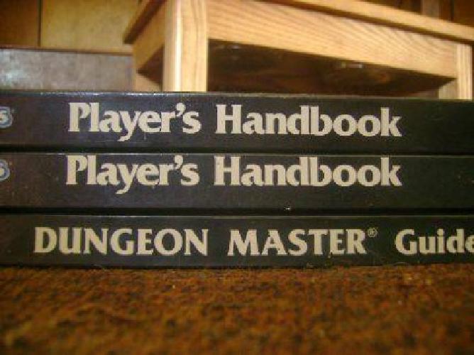 $75 D&d books