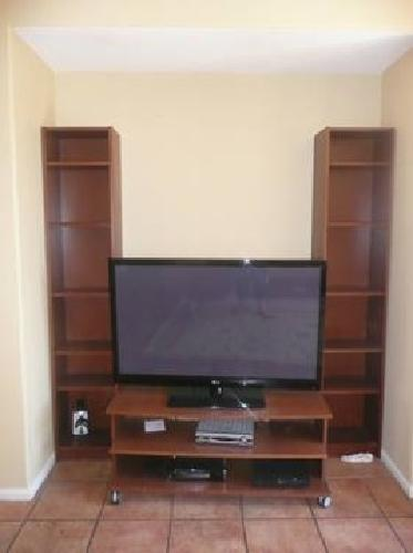 75 ikea billy bookcase shelf tv stand for sale in san marcos california classified. Black Bedroom Furniture Sets. Home Design Ideas