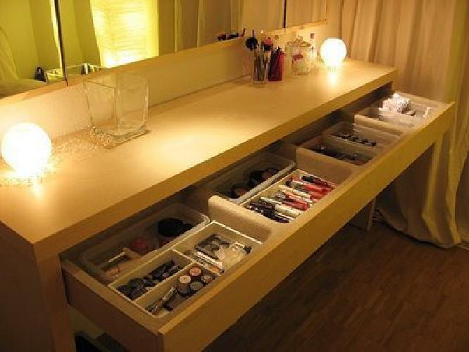 75 ikea malm console table w drawer for sale in new york for Ikea malm console table