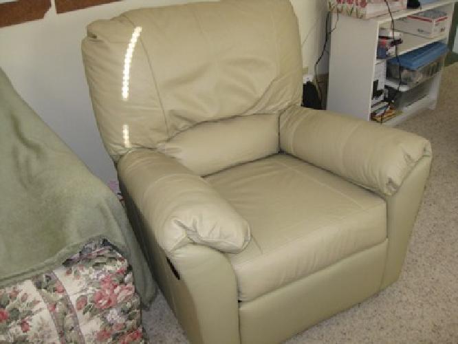 $75 Leather recliner/rocker
