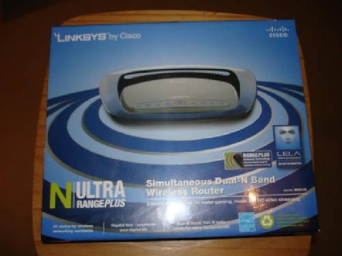 $75 Linksys Cisco WRT610N Dual Band Router In Sealed Box