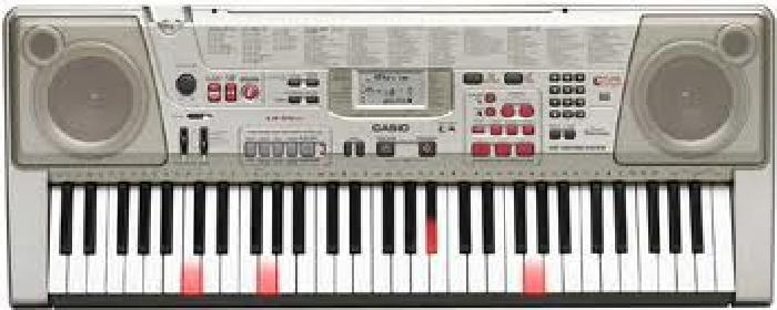$75 OBO Casio lk-94tv Keyboard w/stand and songbook