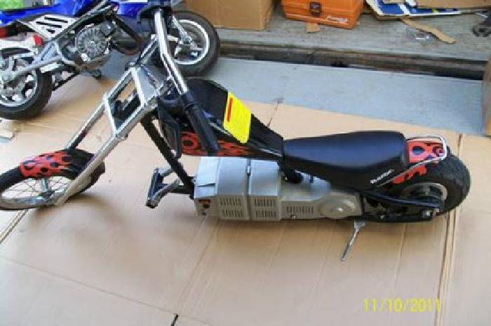 75 Razor Electric Micro Mini Chopper Motorcycle For Sale