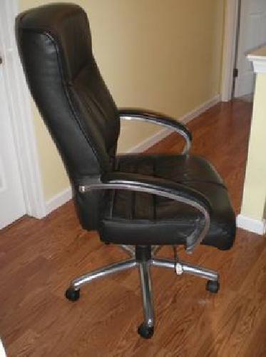 75 Samsonite Executive Office Chair Black