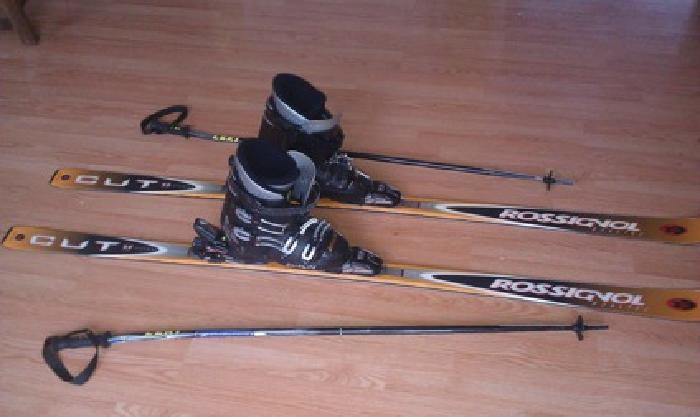 $75 Snow Skis, Boots, Bindings, Poles