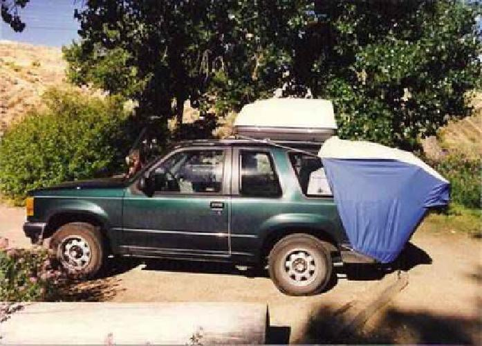 $75 SUV Rear Hatch Tent & $75 SUV Rear Hatch Tent for sale in Lake Forest California ...