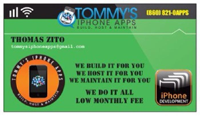 $75 We Build iPhone Apps - Low Low Fee