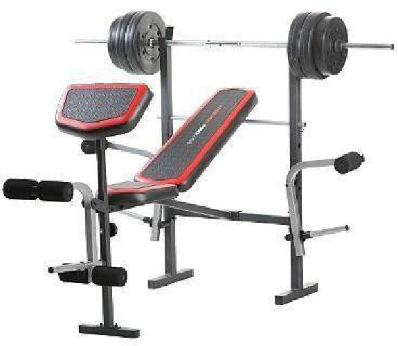 75 Weight Bench W Weights Weider Pro 256 For Sale In Old Saybrook Connecticut Classified