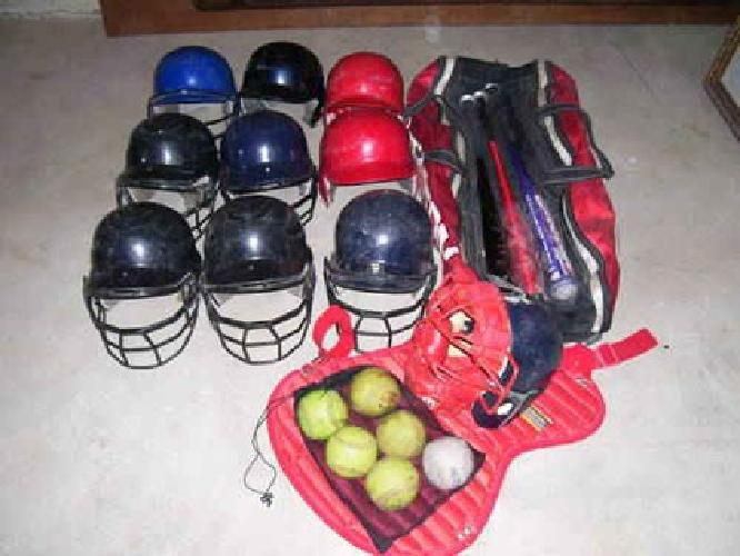 $75 Youth Softball/Baseball Equipment