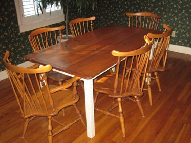 $779.17 7-PC Table and Chairs