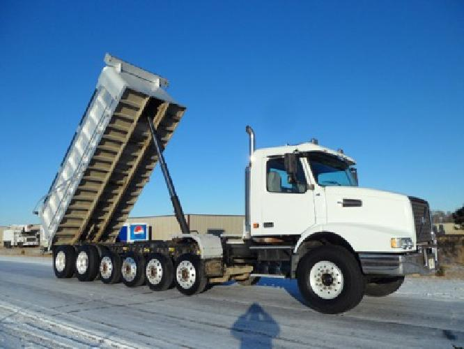 78800 2006 Volvo 7 Axle Aluminum Dump Truck