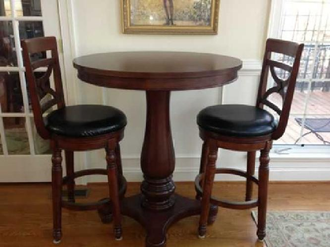 795 Bar Height Pub Table And Chairs For Sale In Charlottesville Virginia Cl