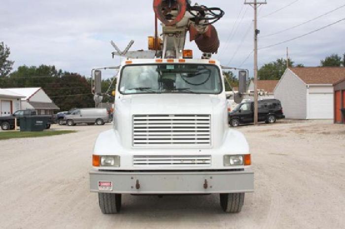 $79,500 Terex 6060- 1999 International S2674 6x4 Digger Derrick