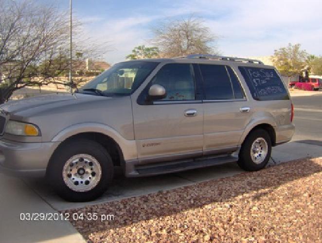 $7,000 OBO 2001 Lincoln Navigator