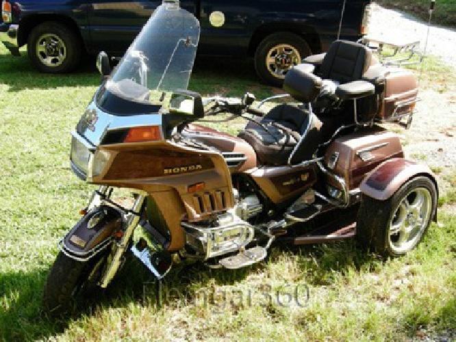 7 150 1986 honda goldwing 1200 trike nice for sale in for Motor trike troup texas