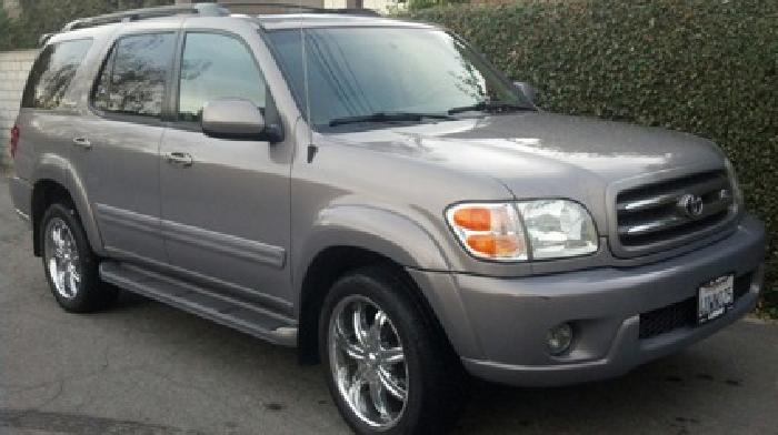 $7,200 2002 Toyota Sequoia Limited